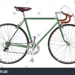 Vintage Bikegreen Bicyclegreen Vintage Race Road Stock Photo Edit Now 269977577