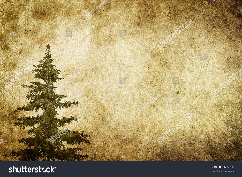 Vintage Christmas Background Stock Photo 63777790