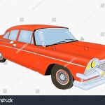 Vintage Sports Car Painting Stock Illustration 1103858258