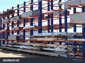 Warehouse Cantilever Racking Systems Storage Aluminum Stock