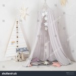 White Stylish Interior Modern Wooden Christmas Stock Photo Edit Now 753474634