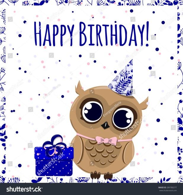 Cute Owl Birthday Images Wallsmiga