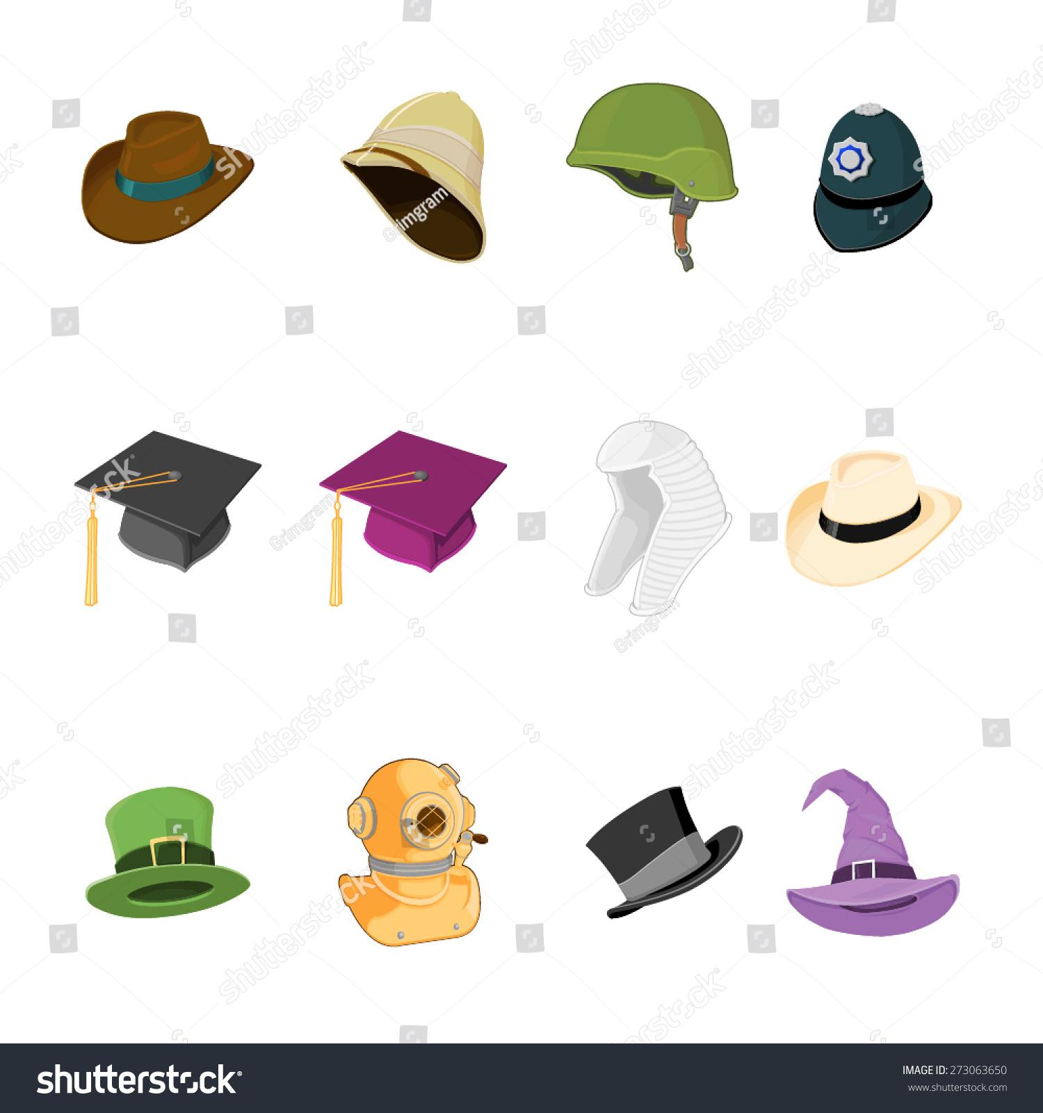 Worksheet Occupation Hats