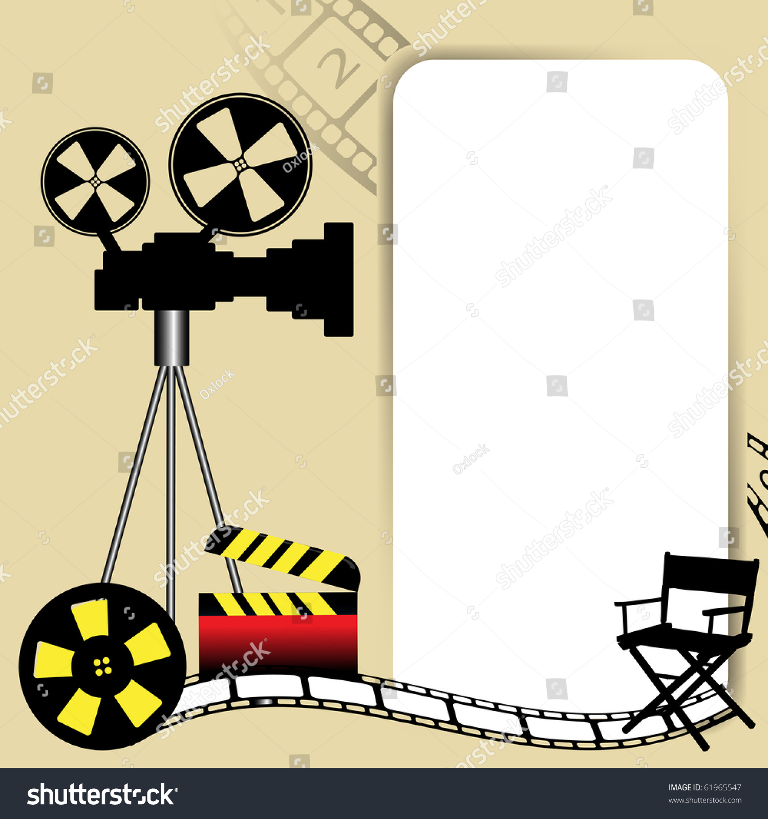 Movie reels clip art hollywood movie reels clip art jeuxipadfo Image collections