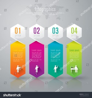Abstract 3d Digital Illustration Infographic Vector
