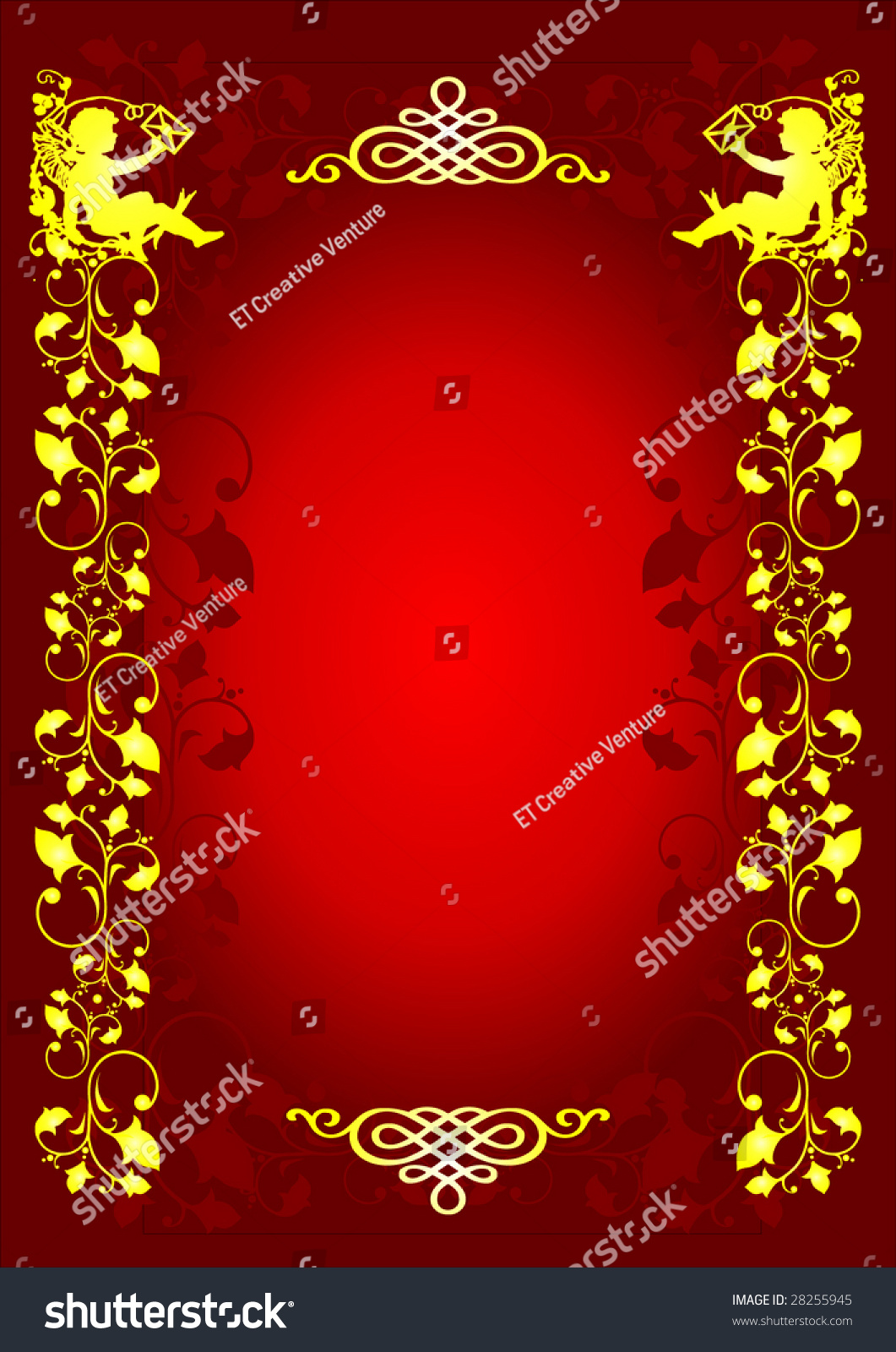 Abstract Design Letter Background Stock Vector Illustration 28255945 Shutterstock