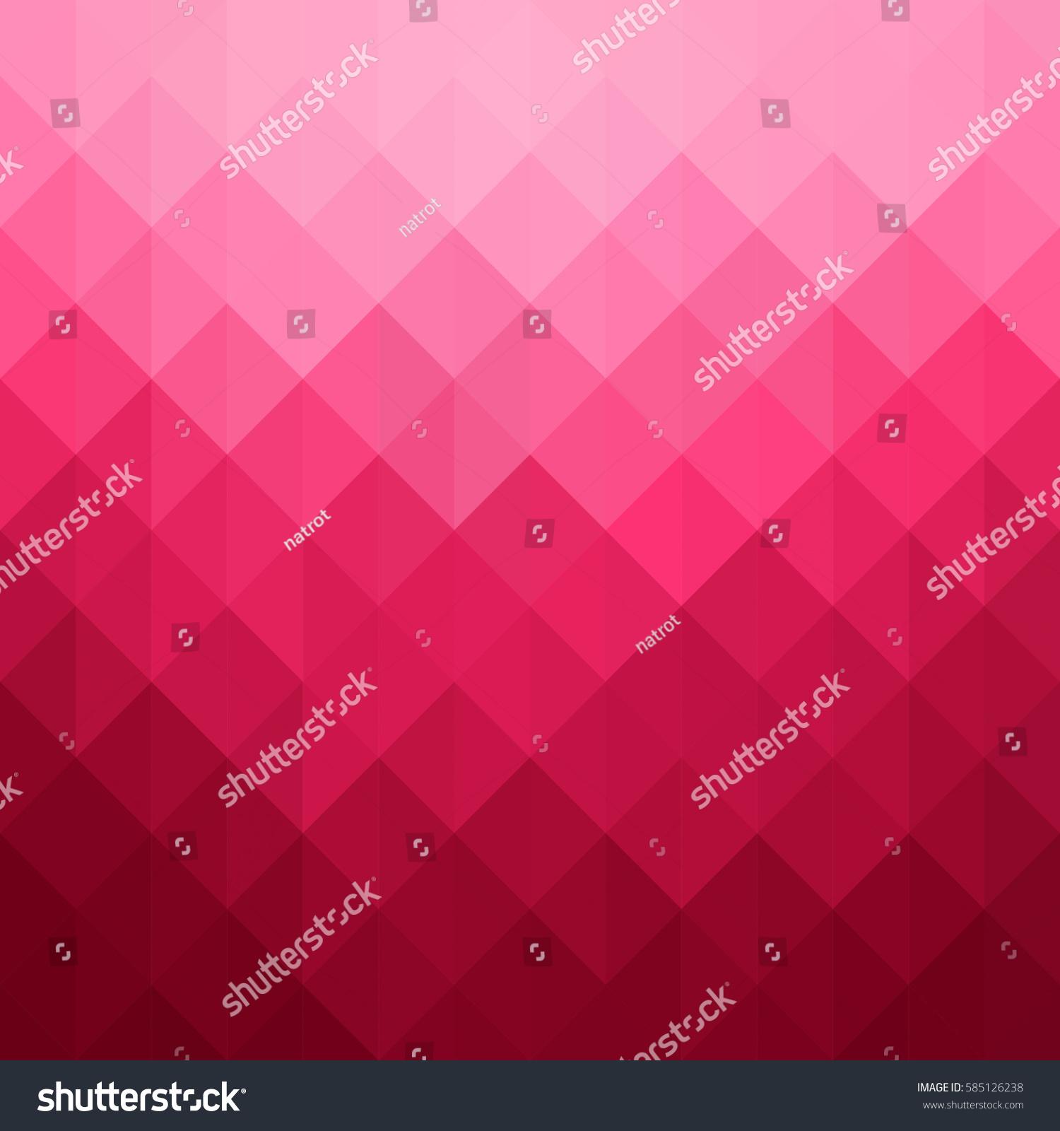 Geometric Triangle Pattern Pink