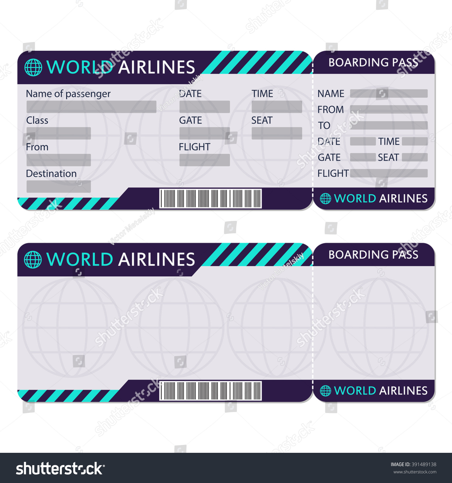 free printable boarding pass template. browsing photoshop psd files on ...