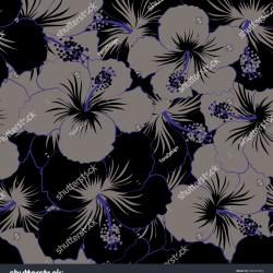 950abea8 Black White Flowers Hawaiian Shirt   Gardening: Flower and Vegetables