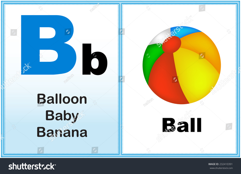 Alphabet Letter B Clipart Few Similar Stock Vector