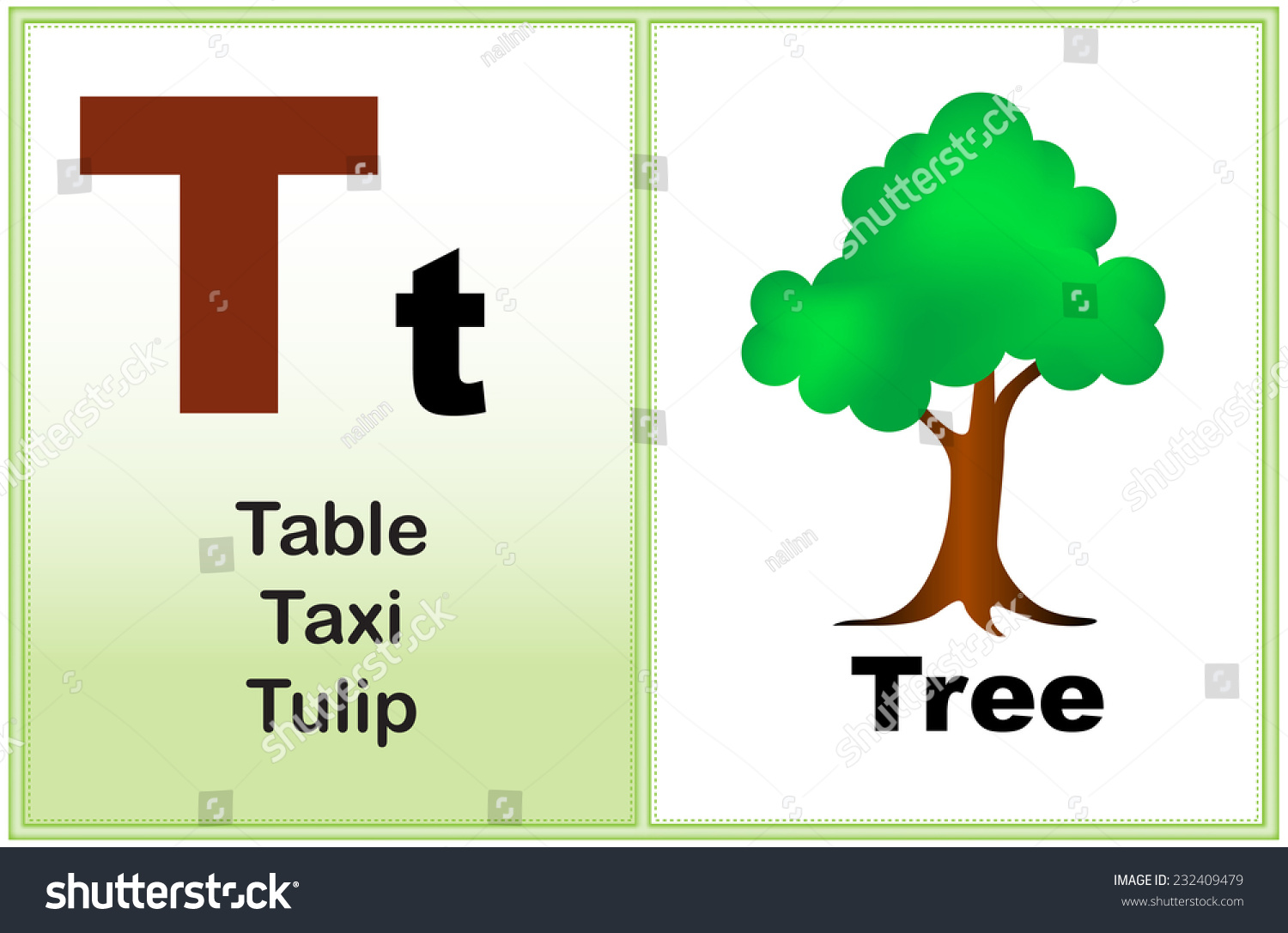 Alphabet Letter T Clipart Few Similar Stock Vector