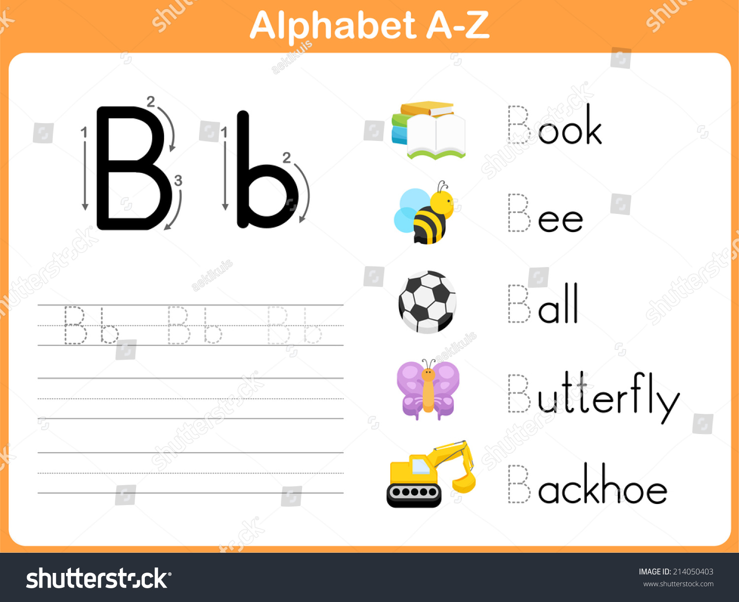 Tracing Letters Worksheet A Z