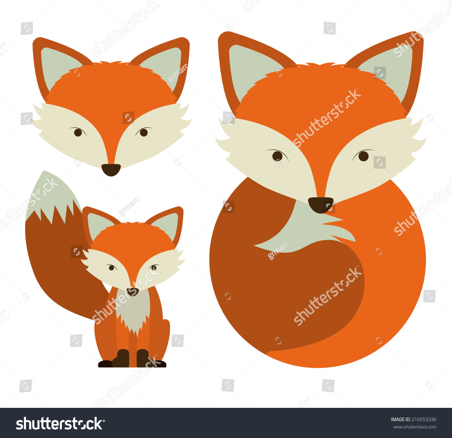 stockvectoranimaldesignoverwhitebackgroundvector