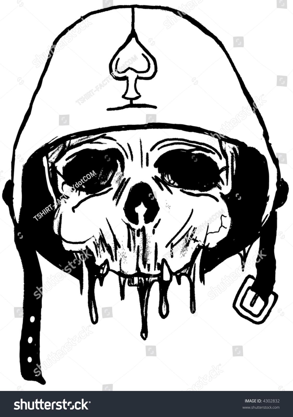 Army Skull Stock Vector 4302832 Shutterstock