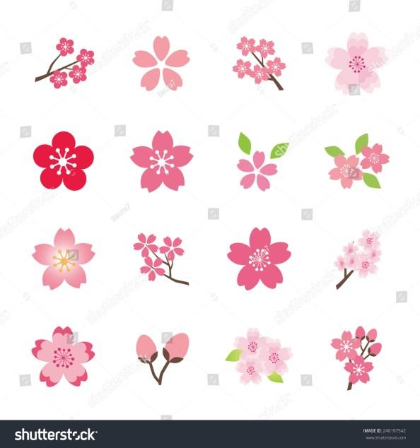 桜のアイコンセット