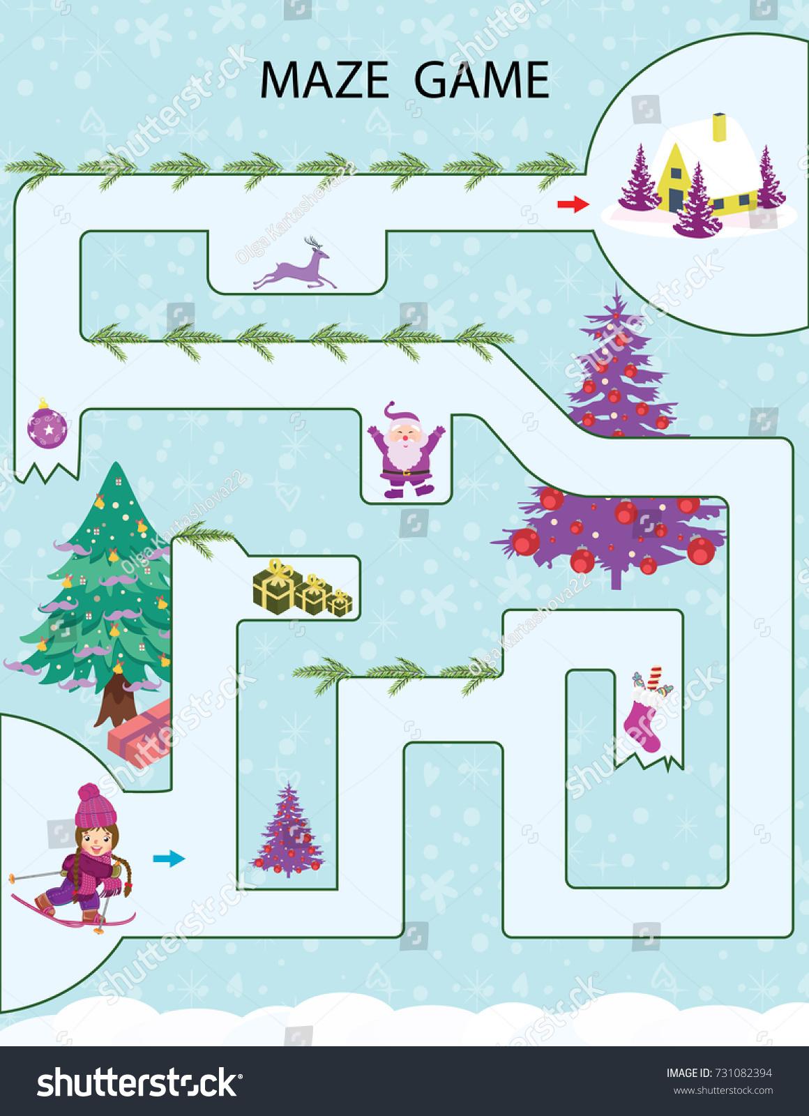 Christmas Kids Worksheet