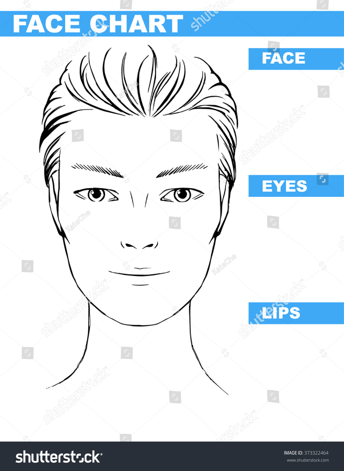Close Up Female Male Hooded Eyes Asian Portrait Makeup