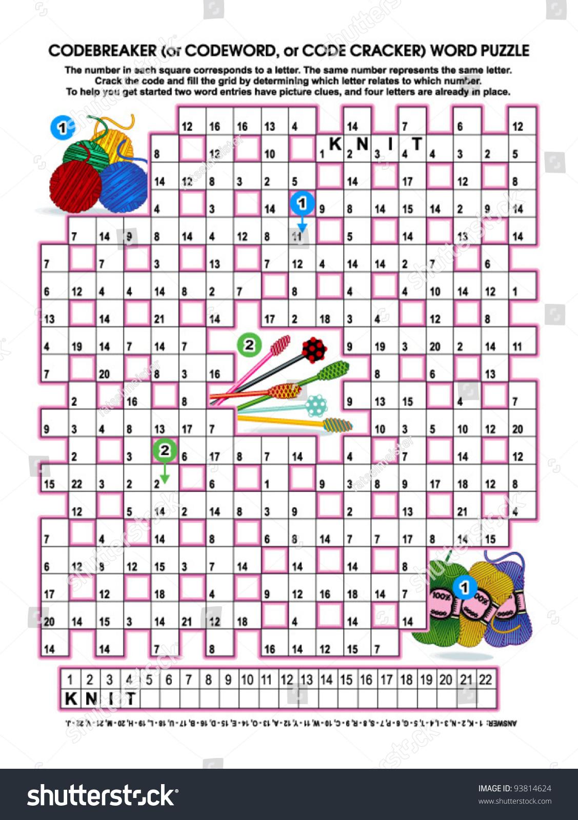 Code Breaker Worksheets For Kids