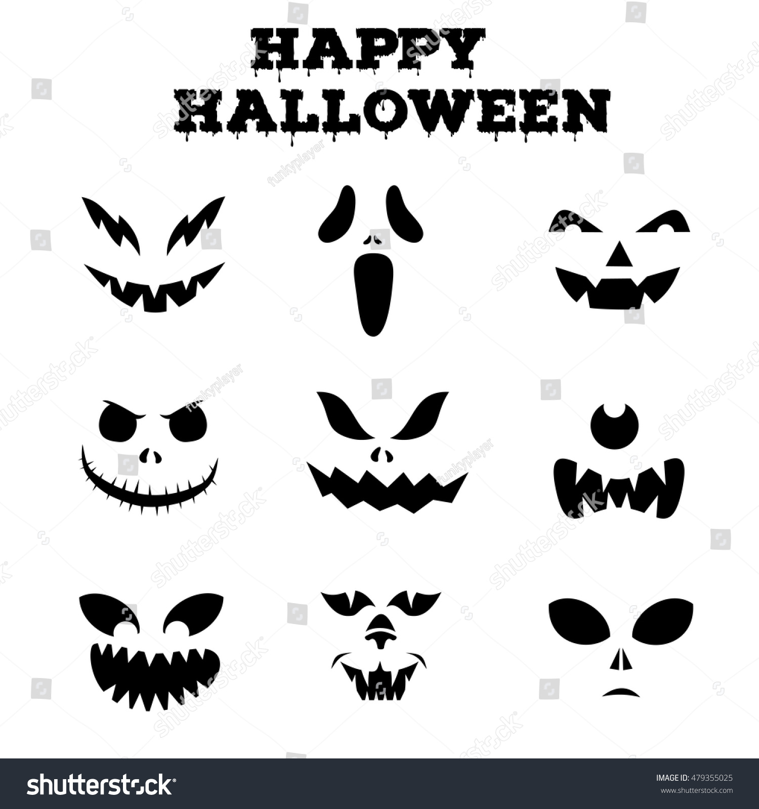 Face Ghost Fun Template