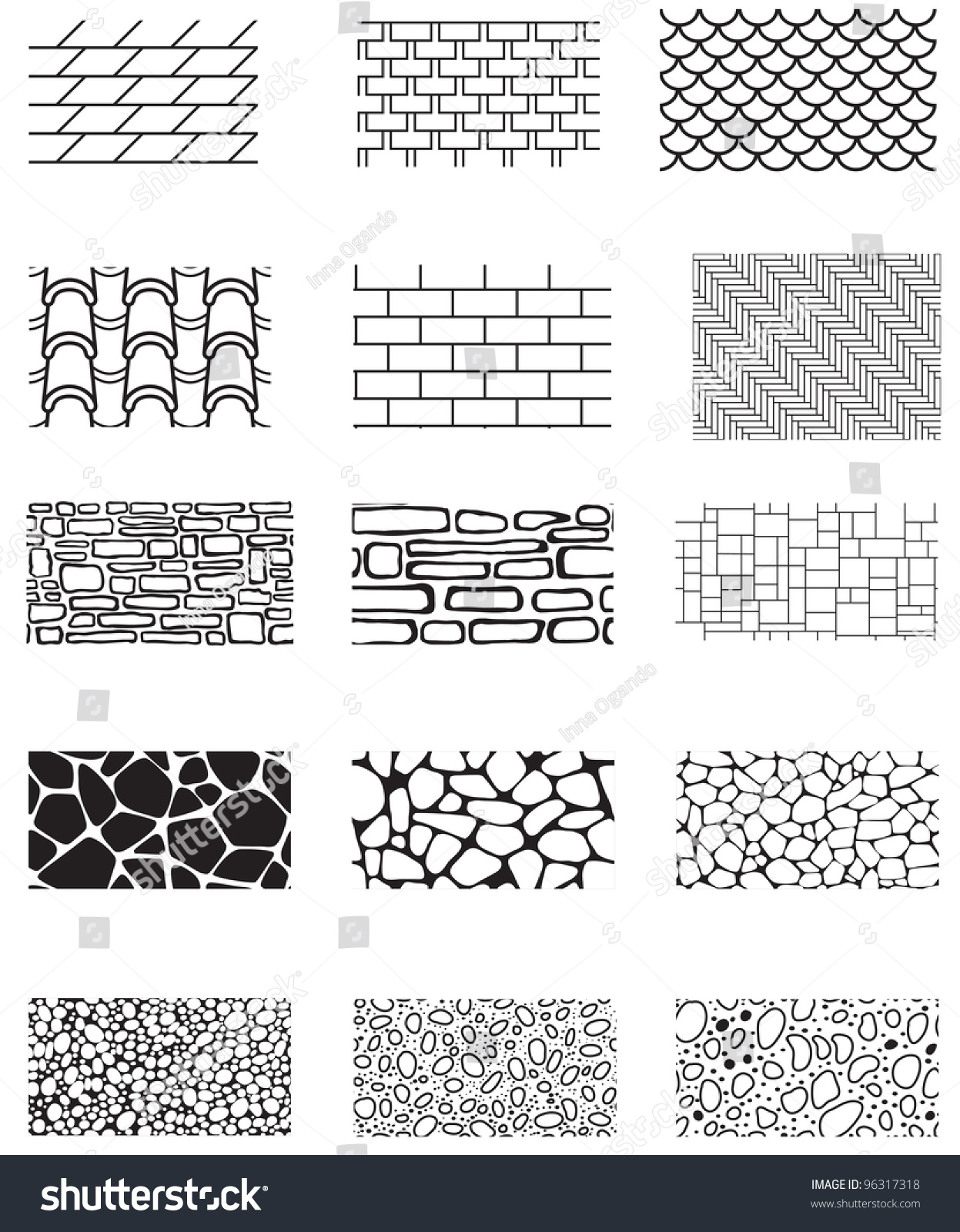 Collection Building Wall Texture Stone Cladding Stock