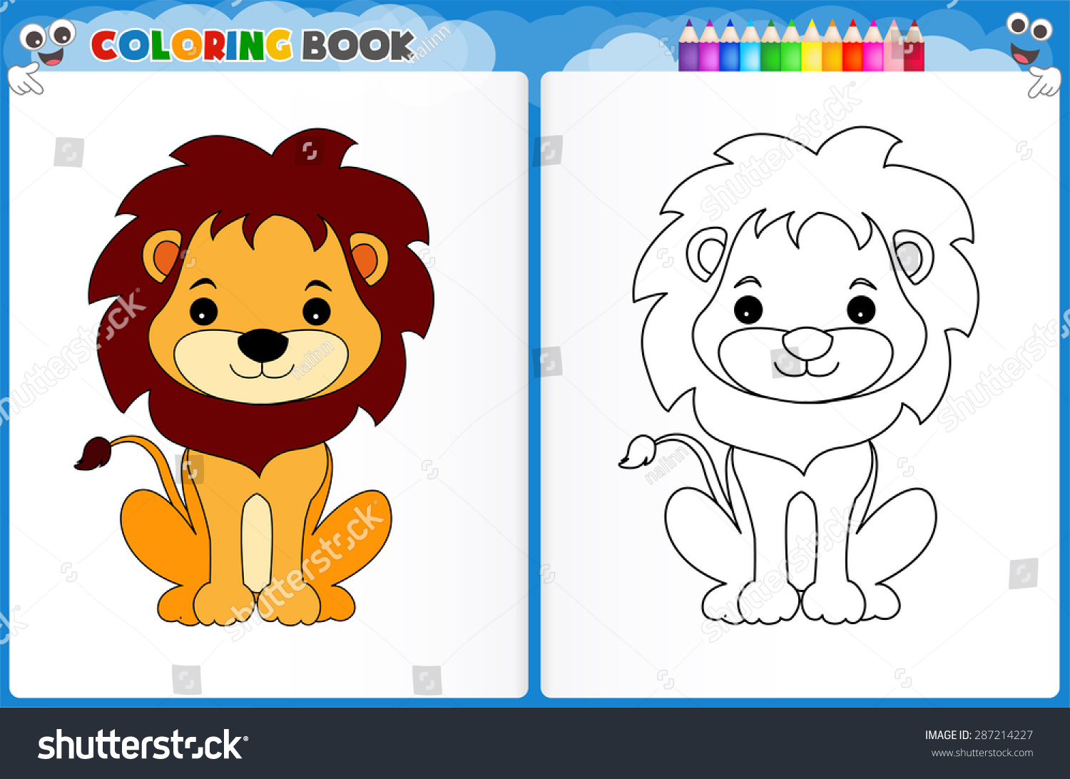Lion King Worksheet For Preschool