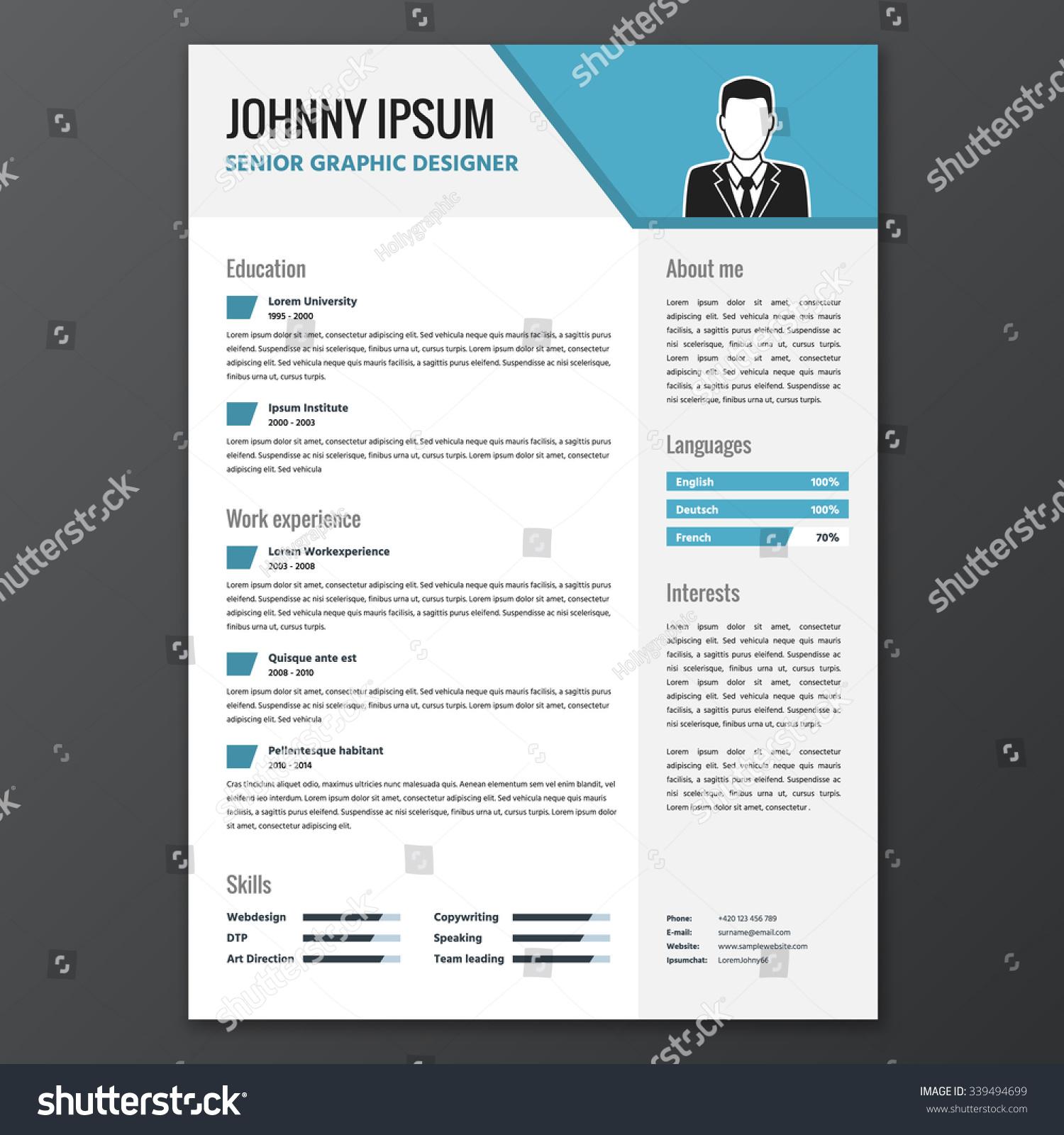 Fancy Resume Templates Free. resume ipixel creative singapore web ...