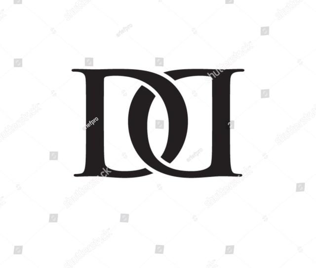 Dd Chain Letter Monogram