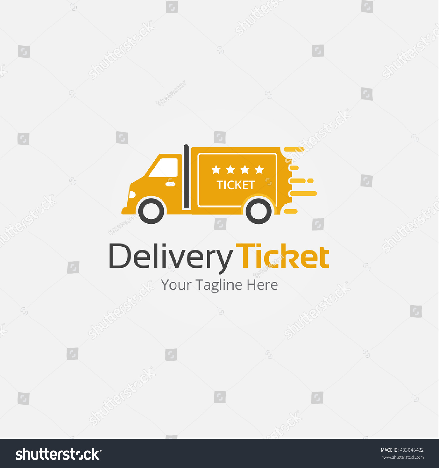delivery ticket template – Shipping Ticket Template