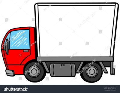 Delivery Truck Stock Vector 207906919 : Shutterstock