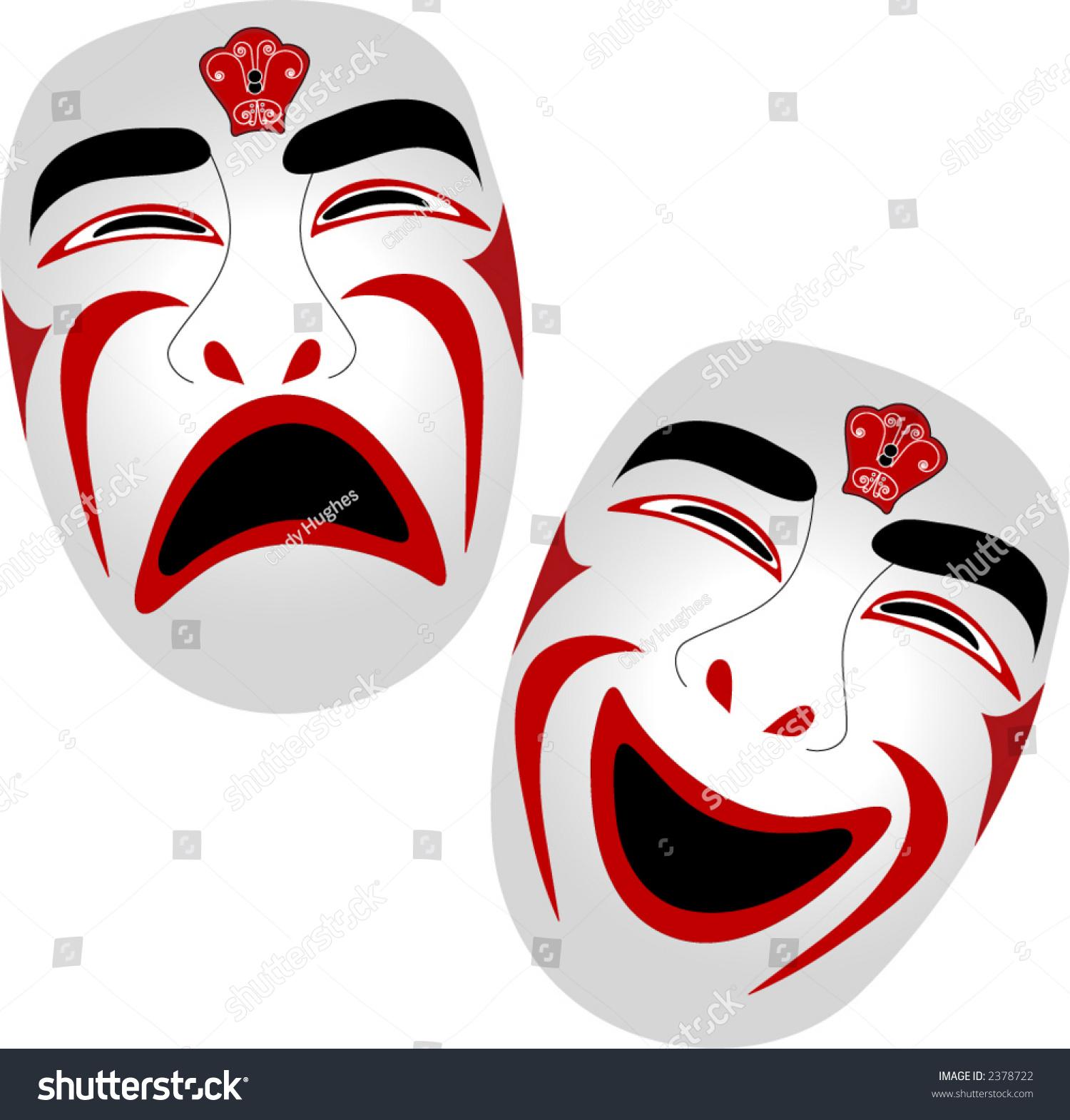 Sad And Drama Emoji Masks Happy