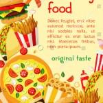 Vector De Stock Libre De Regalias Sobre Fast Food Takeaway Restaurant Cafe Poster749810689