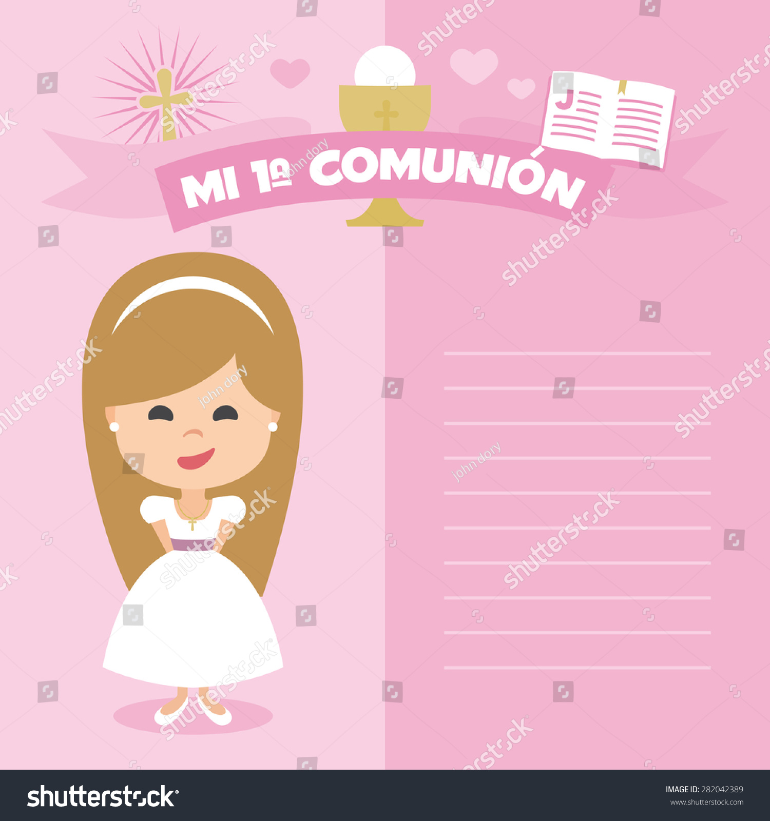 first holy communion invitation templates like success. olive ...