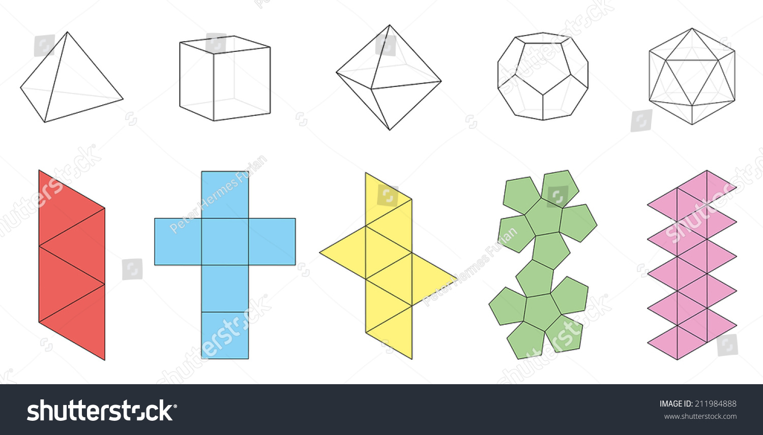 Solid Three Dimensional Shapes Pictures To Pin On