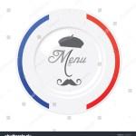 Vector De Stock Libre De Regalias Sobre Funny French Restaurant Menu Design Template122043397