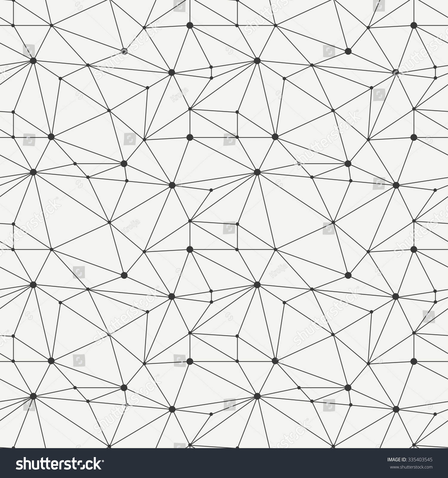Geometric Line Hipster Seamless Pattern Triangle Stock Vector