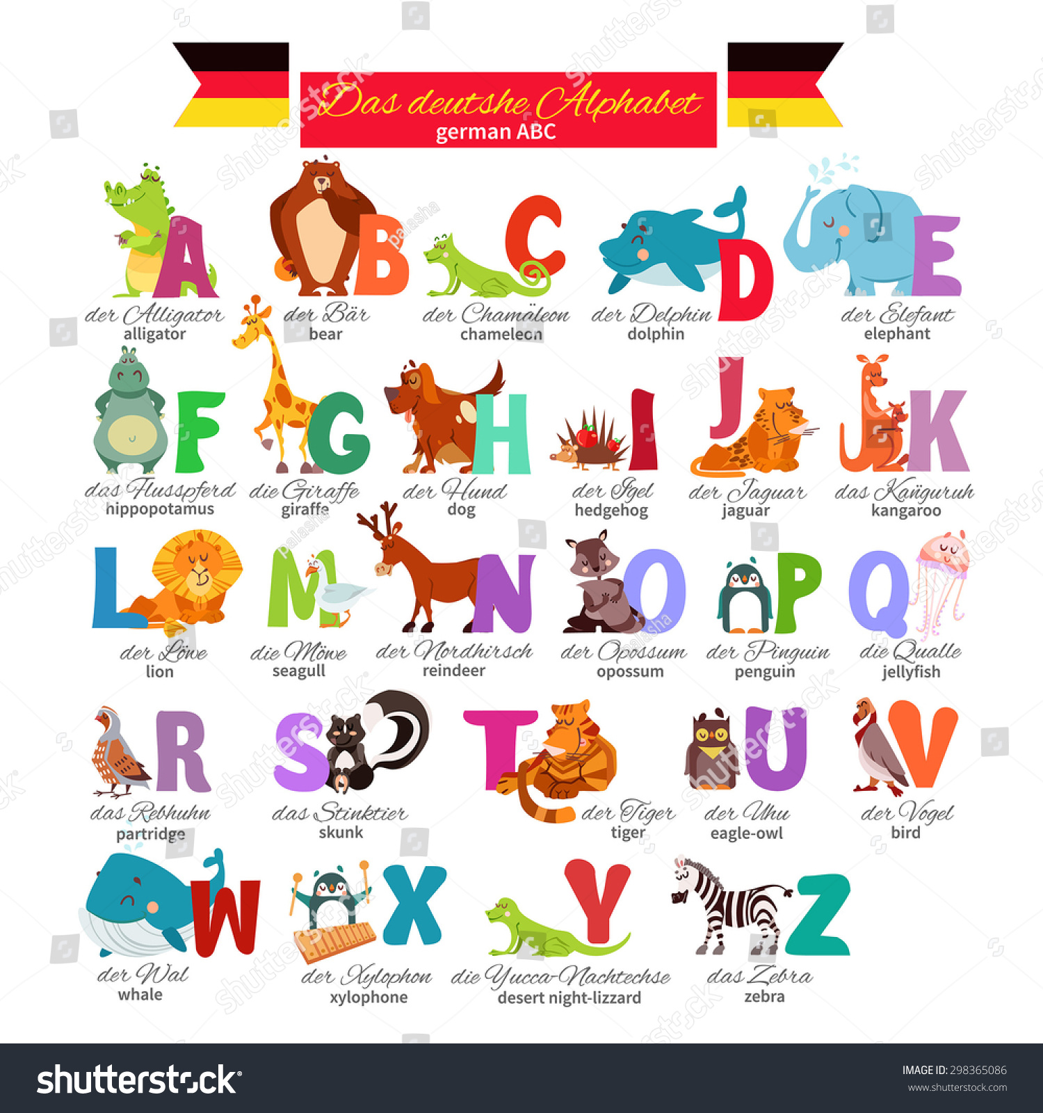 Learn German Picture Dictionary