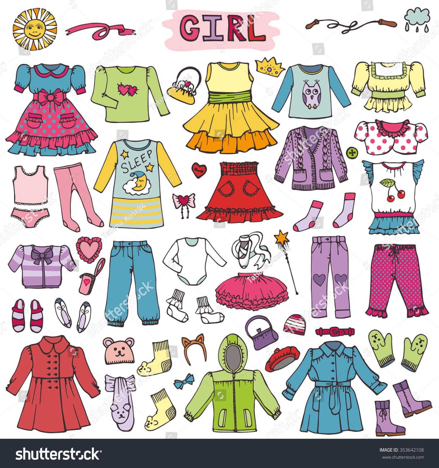 Girl Fashion Wear Setbabyteenage
