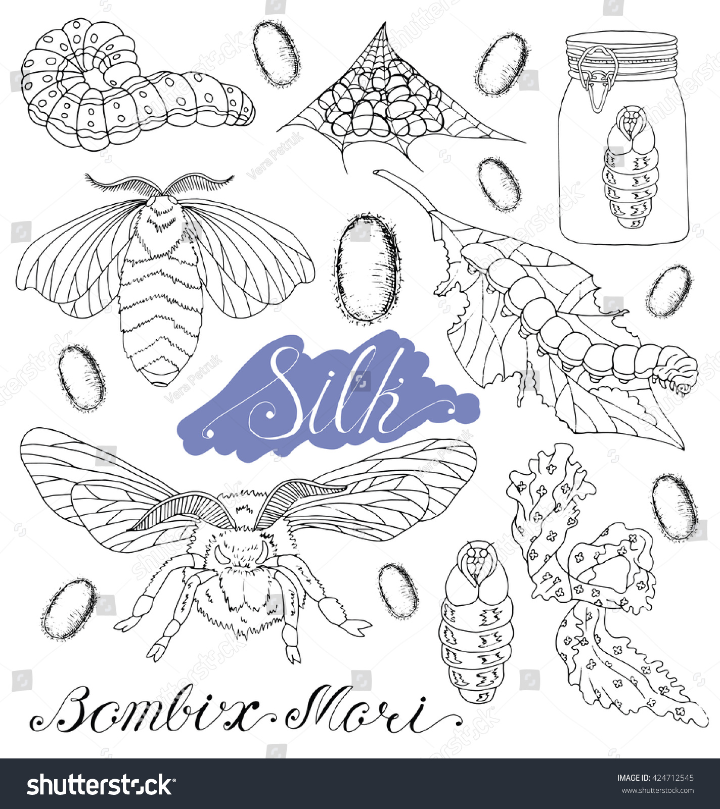 silk moth coloring page moth coloring pages free coloring pages