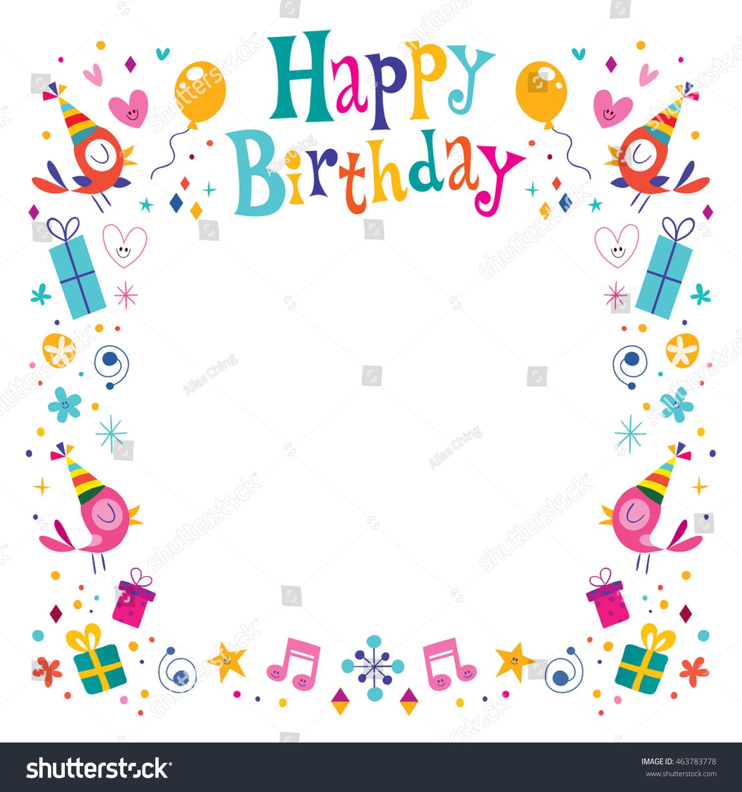 Birthday Frames Free Download