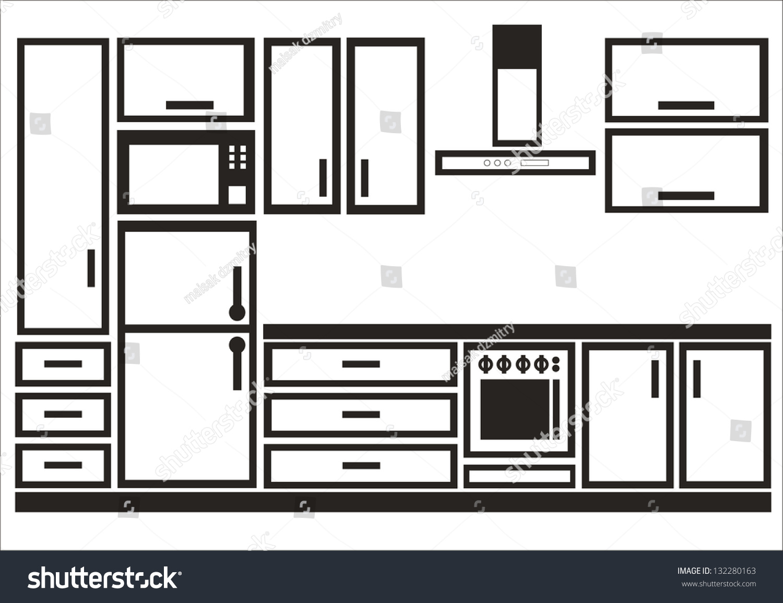 Kitchen Interior Design Logo