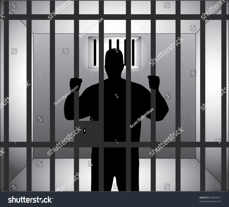 Jail Stock Vector Illustration Shutterstock