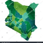 Vector De Stock Libre De Regalias Sobre Kenya World Map Country Icon1006783435