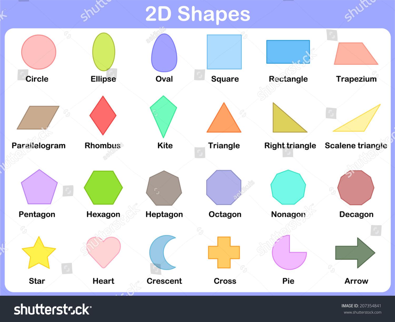 Geometry Worksheet For Preschool