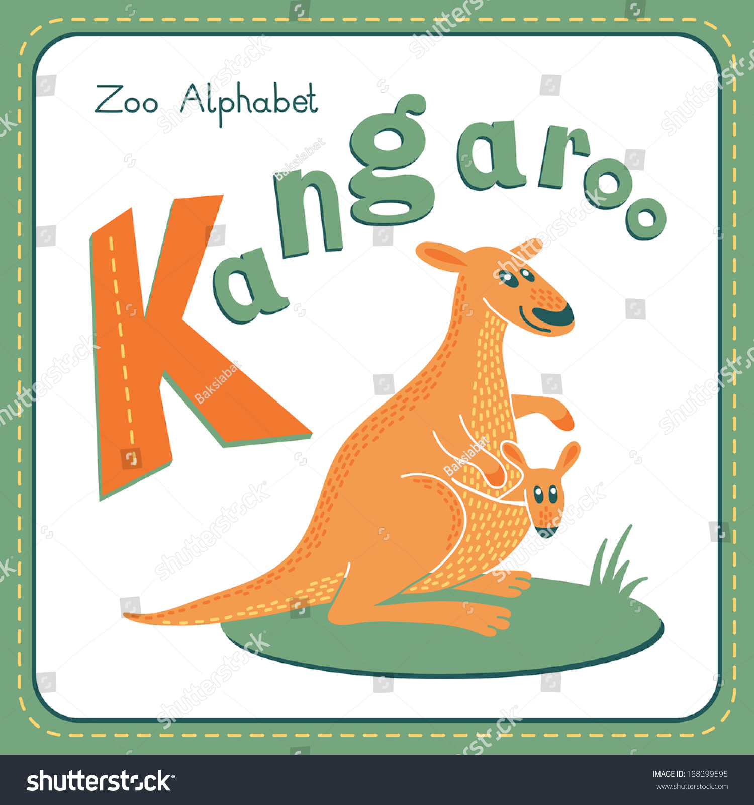 Related Keywords Amp Suggestions For Letter Kk Kangaroo