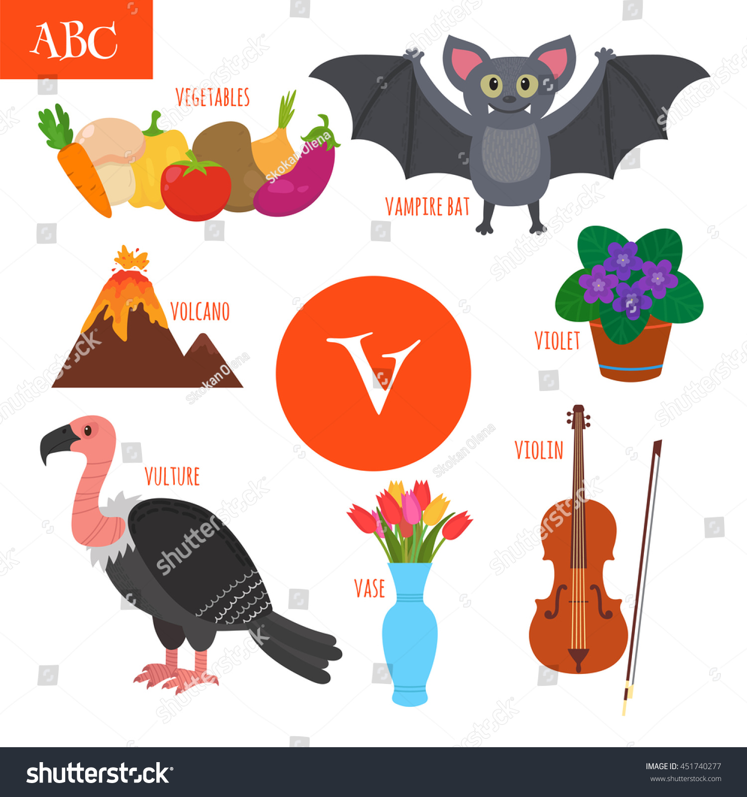What Starts With The Letter V