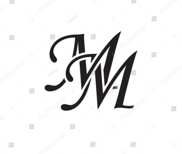 Mm Initial Monogram Logo