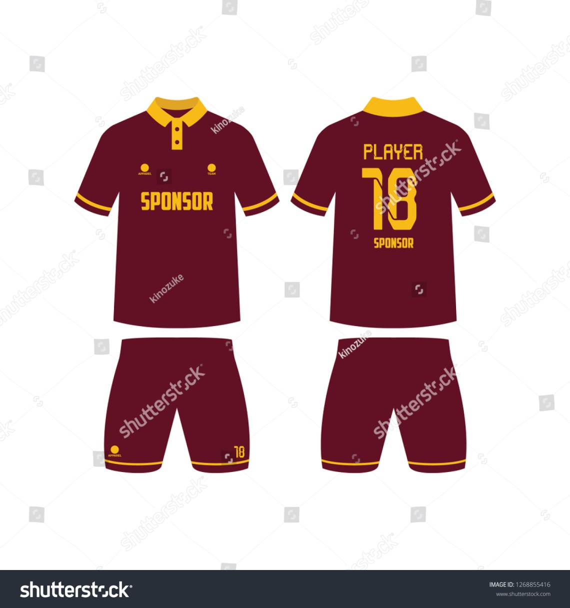 Download View 49+ 42+ Template Mockup Jersey Futsal Pictures cdr
