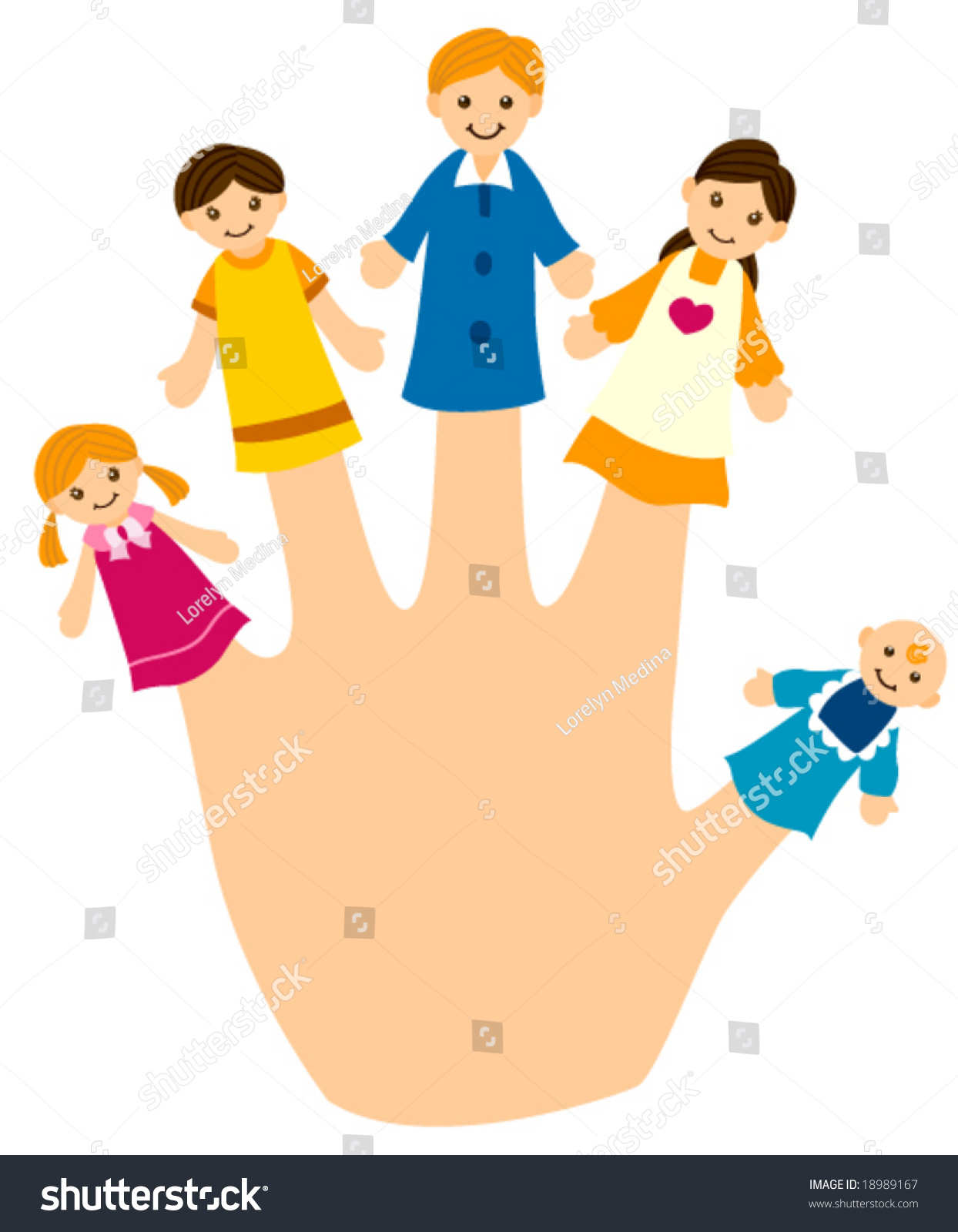 Clipart Family Finger Family Puppets Printables Free