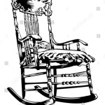 Rocking Chair Illustration Stock Vector Royalty Free 40018111
