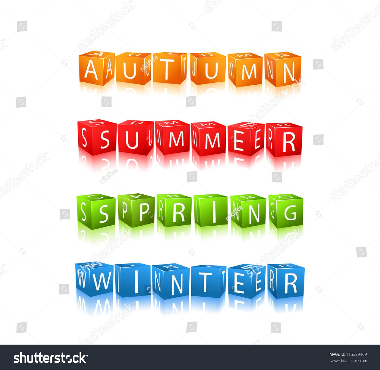 4 Seasons Words Gallery